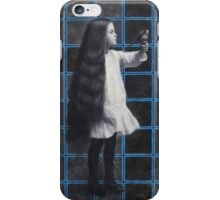 The girl with a bird iPhone Case/Skin
