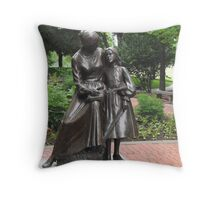 Teaching With Love Throw Pillow