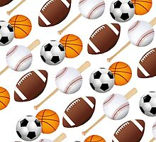 Sports Fan by Darlene Lankford Honeycutt