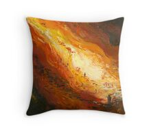 The Land No 1 Fixing the Fences Throw Pillow