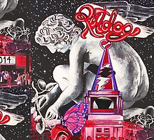 A Valentine's Evening with Ratdog 2014 - Design 2 by Kevin J Cooper