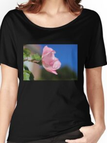 Pink Rose Blue Sky Women's Relaxed Fit T-Shirt
