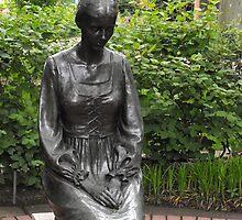 Woman In Prayer by Jan  Tribe