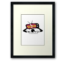 Wrestling Watching Club Logo Framed Print