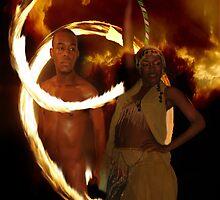 Fire Rings by Dan Perez
