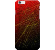 Yellow Webs iPhone Case/Skin