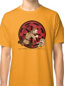 Lets Be Jedi (Qui Gon & Anakin EP1) Classic T-Shirt
