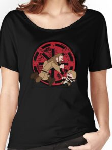 Lets Be Jedi (Qui Gon & Anakin EP1) Women's Relaxed Fit T-Shirt