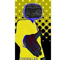 Yellow Controller Photographic Print