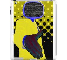 Yellow Controller iPad Case/Skin