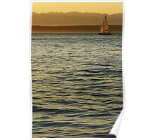 Sailing the Sound Poster