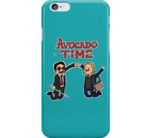 Avocado Time! iPhone Case/Skin