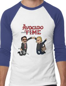 Avocado Time! Men's Baseball ¾ T-Shirt