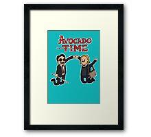 Avocado Time! Framed Print
