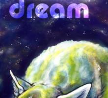 Do dogs dream of electric sheep? Sticker