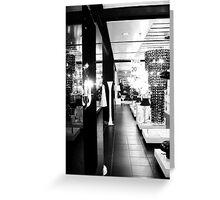 London. Harrod's, Lighting Department Greeting Card