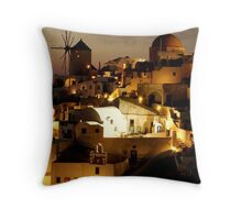INNER SPACE OUTER BEAUTY  Throw Pillow