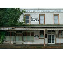 Fraser's Licensed Grocer Photographic Print