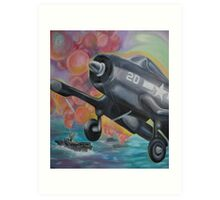 Fighter Plane Art Print
