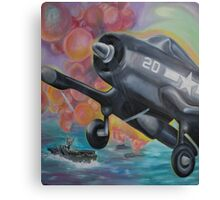 Fighter Plane Canvas Print