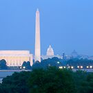 Washington Monuments 2 by bkphoto