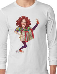 Alfred (Weird Al) Yankovic and Harvey the Wonder Hamster Long Sleeve T-Shirt