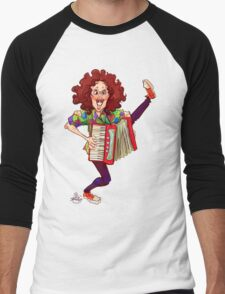 Alfred (Weird Al) Yankovic and Harvey the Wonder Hamster Men's Baseball ¾ T-Shirt