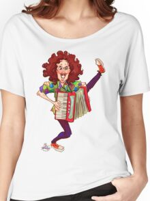 Alfred (Weird Al) Yankovic and Harvey the Wonder Hamster Women's Relaxed Fit T-Shirt