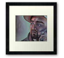 Carlos Lopez Framed Print