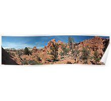 Shakespeare Arch- Kodachrome State Park, Utah Poster
