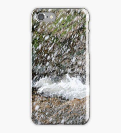 Seaspray seaweed and rocks iPhone Case/Skin