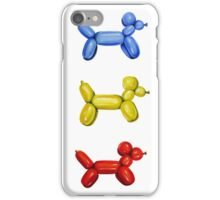 Balloon Dogs iPhone Case/Skin