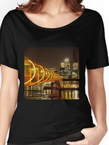 Piers of Docklands Hilton Women's Relaxed Fit T-Shirt
