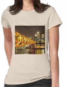 Piers of Docklands Hilton Womens Fitted T-Shirt