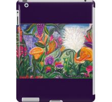 """Playing in the jungle """"Summer Party"""" iPad Case/Skin"""