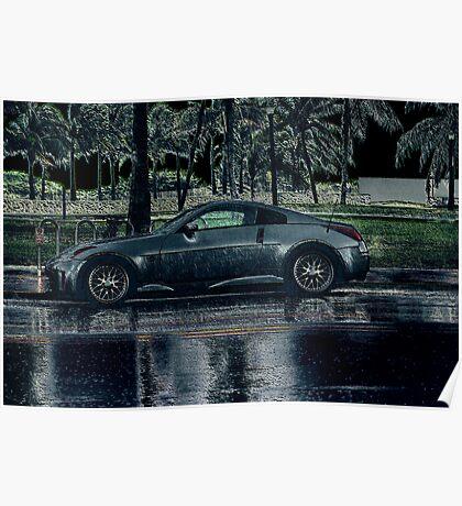 Zeein' In The Rain Poster