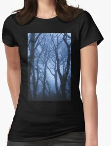 When the fog comes in Womens Fitted T-Shirt