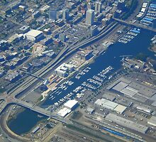 Tacoma, Washington. Aerial View by Igor Pozdnyakov