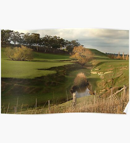 Green Pasture,Daylesford District Poster