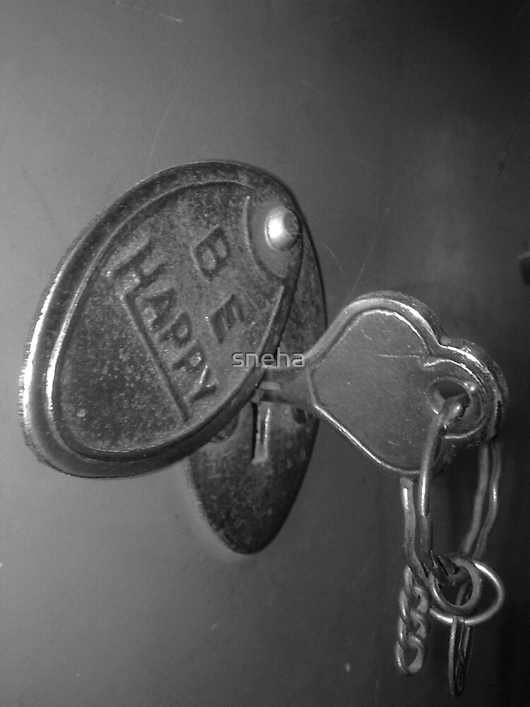 key to the happiness! =) by sneha