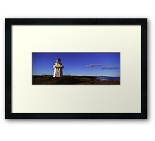 Waipapa Point Lighthouse, Southland Framed Print
