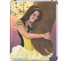 Belle and Her Beast iPad Case/Skin