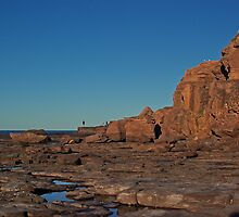 Landscape: Windang Island Rock Formations by Vanessa Pike-Russell
