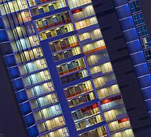Cool towers, Coolangatta by Geraldine Lefoe