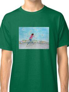 Running girl  Classic T-Shirt