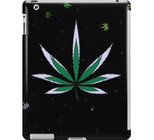 Colorful Marijuana Leaves iPad Case/Skin