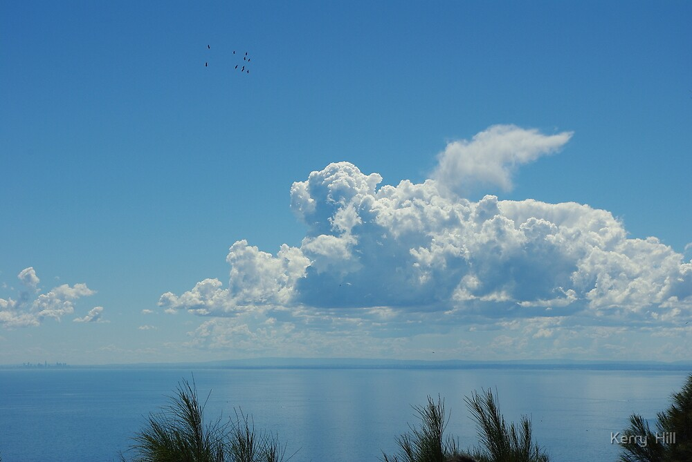 Clouds by Kerry  Hill