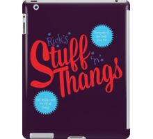 Stuff and Thangs iPad Case/Skin