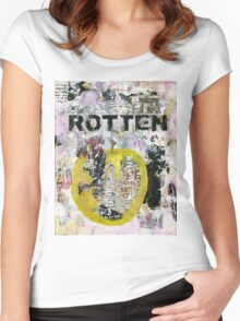 Rotten No# 4 Women's Fitted Scoop T-Shirt