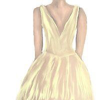 Lemon dress Photographic Print